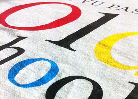 serigraphie t-shirt