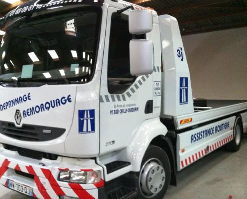 covering camion dépannage