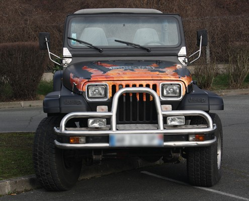 covering jeep monster