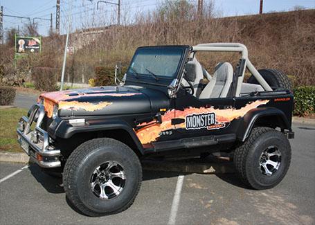 covering sur jeep