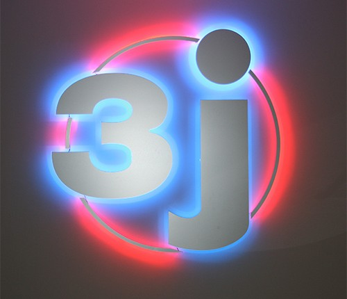 enseigne logo 3J