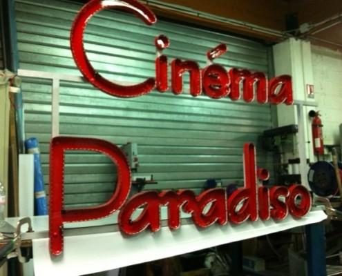 création enseigne cinéma