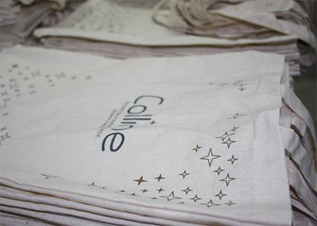serigraphie sur sac tissu
